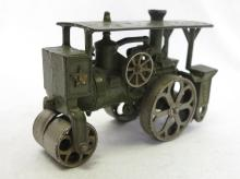 Hubley Cast Iron Toy Steam Roller Tractor. 7.5