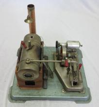 Jensen Dry Fuel Fired Steam Engine No. 75. Jensen Mfg Co