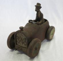 1920's Andy Gump Cast Iron Arcade Sidney Smith 348 Roadster Car