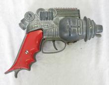 Hubley Atomic Disintegrator Toy Cap Gun. 7.5