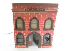 Fire Station No. 1 Train Accessory Building. 7.25