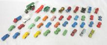 (42) Mini Toy Metal Cars. Matchbox Lesney Models of Yesteryear Road Roller