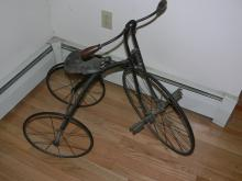 Early Wire Wheel Child's Tricycle