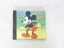 1938 Walt Disney's Enterprises Story of Mickey Mouse Book