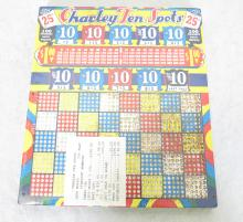 Charley Ten Spots Punch Game. Sealed in Plastic, Unused. 10
