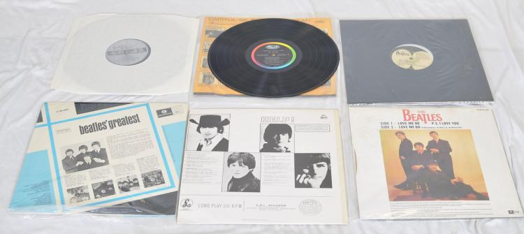 12) The Beatles LP Vinyl Records incl  The Beatles Anthology