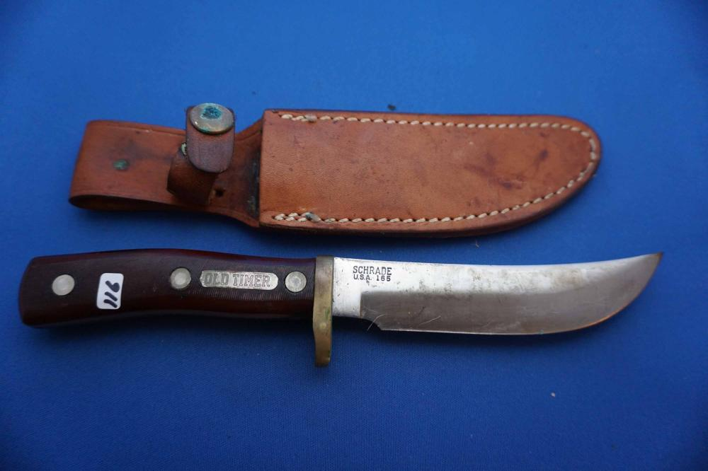 Schrade Old Timer 165 Sheath Knife