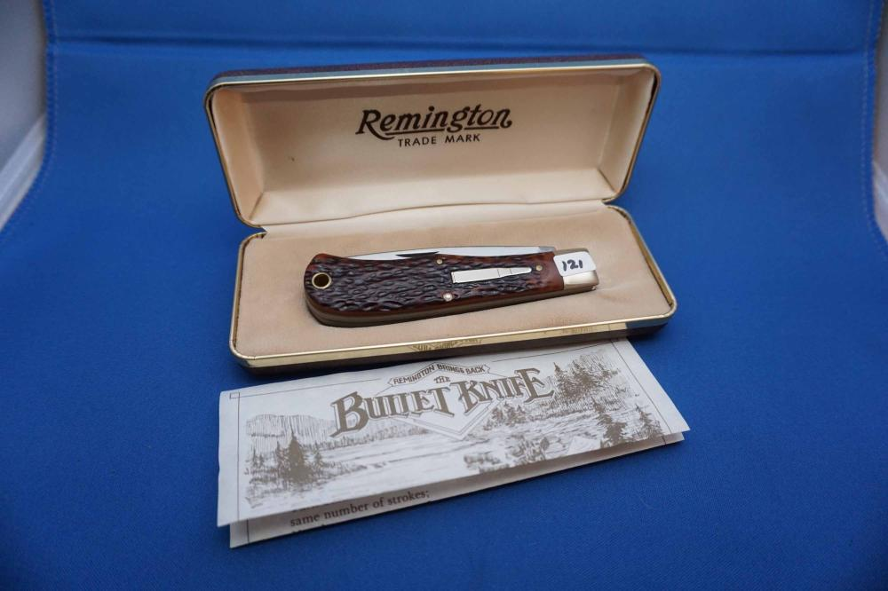 Remington Bullet Knife R1123 With Case