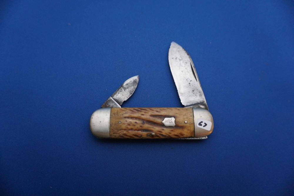 Union Cutco Sunfish Pattern Pocket Knife, used