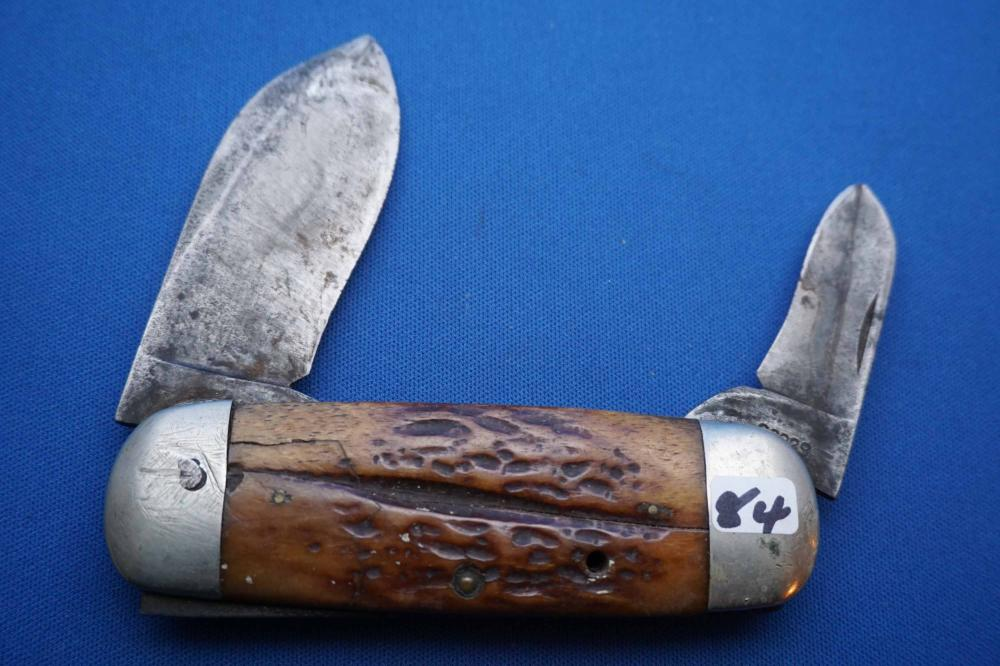 Cattaraugus Pocket Knife, Sunfish Pattern, 22929, used