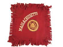 Massachusetts State College Amherst Felt Pillow Sham