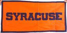 Syracuse University Felt Banner, Sewn on Letters
