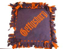 Gettysburg College Felt Pillow with Filling