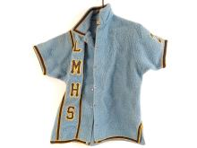 L.M.H.S. Wool Uniform #23 on Arm