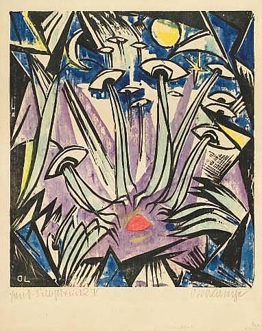 Otto Lange 1879 - Dresden - 1944 Sinnliche