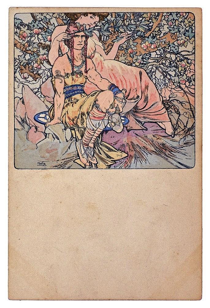 carte postale illustrée neuve, édition néérlandaise, représente un couple