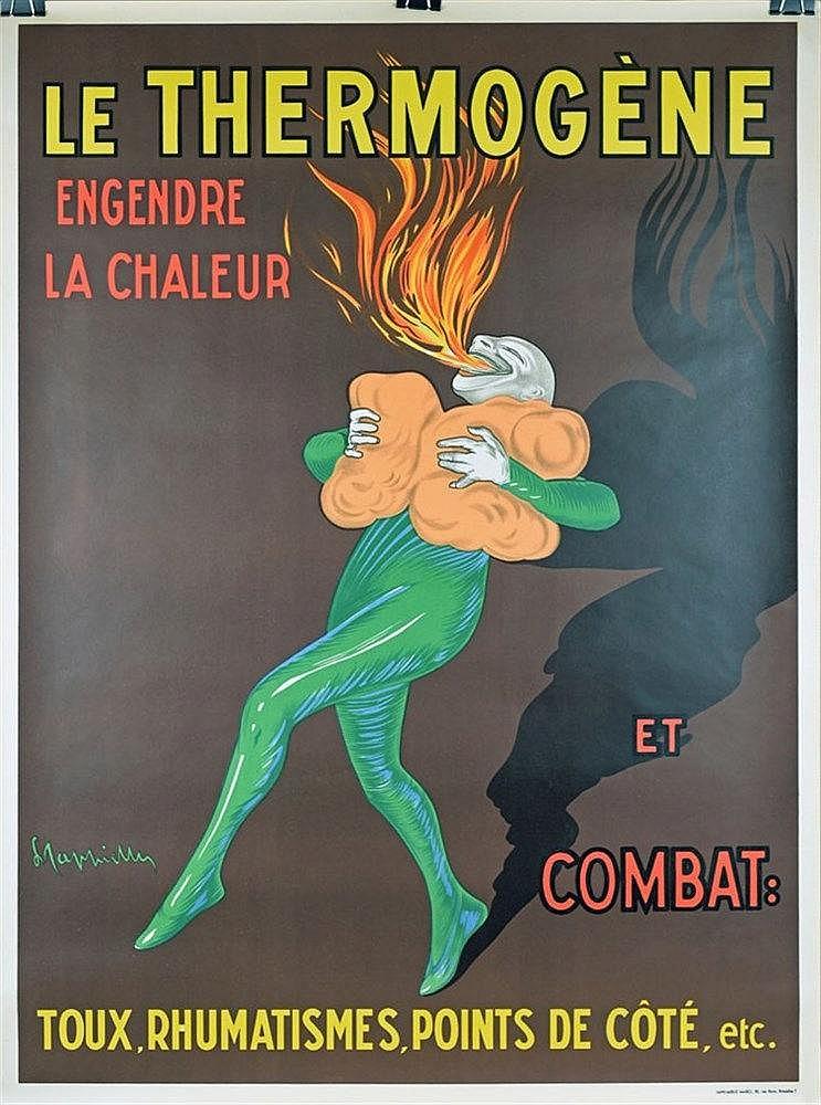 Le Thermogène affiche couleur 100 x 75cm