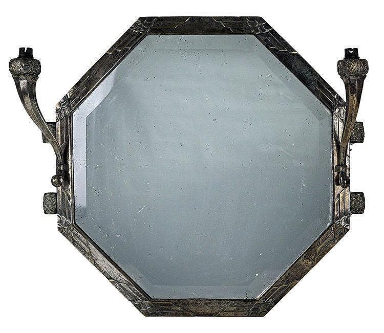 En bronze argenté 56 x 56cm