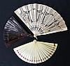 Matériaux divers: plumes d'autruche, écaille,…