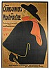Les chansonniers de Montmartre. Affiche publicitaire originale représenta, Henri de Toulouse-Lautrec, €10