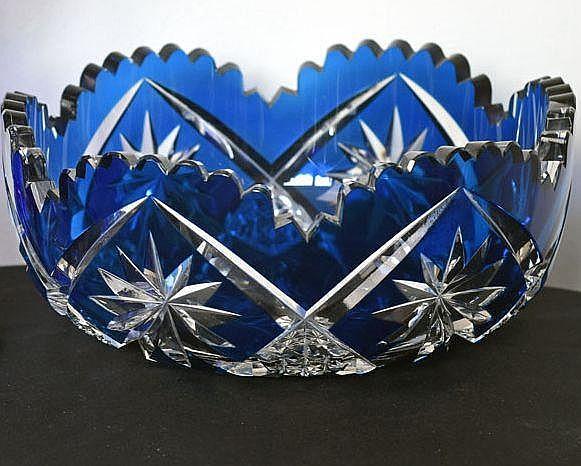 Coupe à motif géométrique bleu turquoise hauteur 9 cm, diamètre 20 cm