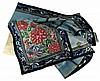 Deux Mang Qun en satin blanc ou bleu brodés de soie polychrome et fil d'or