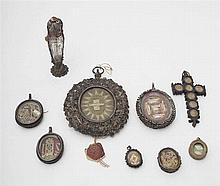 Set of relics - 19th century