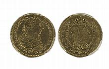 COLOMBIA, Charles III (1759-1788), Escudo