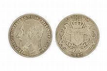 CONGO, Free state, Leopold II (1885-1908), 5 Francs