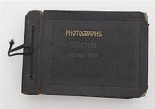 Photograph album, dated