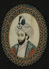 Portrait of a Mughal ruler, possibly Nasid-ud-Din Humayun - India, antique work
