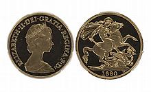 GREAT BRITAIN, Elizabeth II (1952- ), Proof Two Pounds
