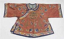 Short court jacket (informal model) - China, Qing period