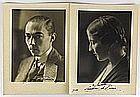 Photography - Count and Countess of Paris, autographed