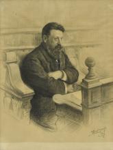 Henri Lemaire (1879-1949), Portrait of a man, 1919