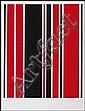 Guido Molinari 1933 - 2004 Canadian silkscreen on paper Untitled, Guido Molinari, Click for value