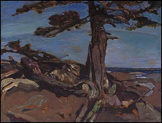 Frederick Horsman Varley 1881 - 1969 Canadian oil