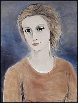 Stanley Morel Cosgrove 1911 - 2002 Canadian oil on canvas Portrait