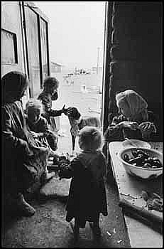 Larry Towell 1953 -  Canadian gelatin silver photograph El Cuervo, Casa Colonies, Mennonites, Chihuahua