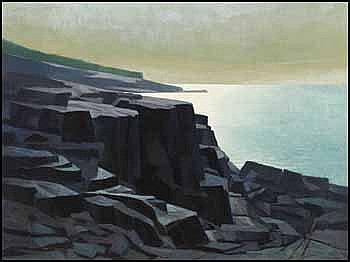 Alan Caswell Collier 1911 - 1990 Canadian oil on