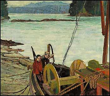 Robert Genn 1936 - Canadian oil on canvas Two