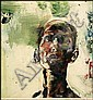 Tom Hopkins 1944 - Canadian mixed media on paper, Tom Hopkins, Click for value