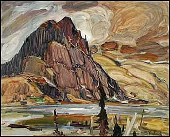 René Jean Richard 1895 - 1982 Canadian oil on
