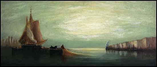 John A. Hammond 1843 - 1939 Canadian oil on canvas