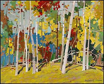 Robert Genn 1936 - Canadian acrylic on canvas