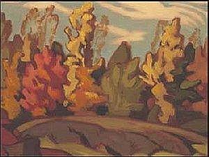Joachim George Gauthier 1897 - 1988 Canadian Two Works A04F-E02157- 002 Private Collection, Toronto