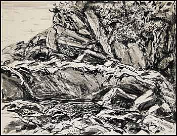 Arthur Lismer 1885 - 1969 Canadian ink and wash on