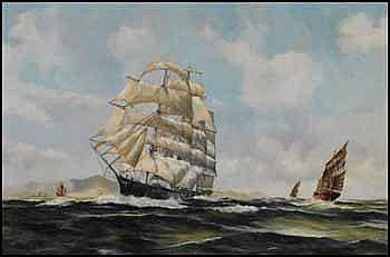 Robert McVittie 1935 - 2002 Canadian oil on canvas