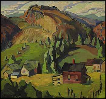 Kathleen Frances Daly Pepper 1898 - 1994 Canadian oil on canvas Catskill Mountains