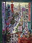 Paul Alexander Goranson 1911 - 2002 Canadian oil on canvas Gung Hay Fat Choy